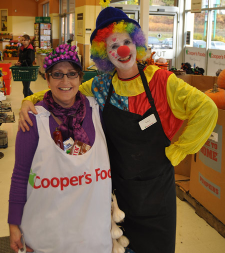 Cindy and Penny were two of the staff in fine form at Cooper's.  David F. Rooney photo