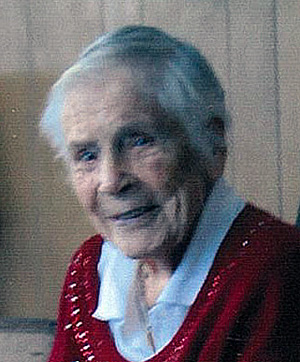 Doris Ellen Morgan 1917 - 2013