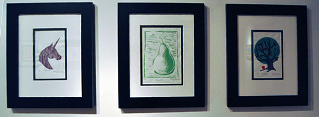Believe, Growth and Strength By Carly Owens Lino Print