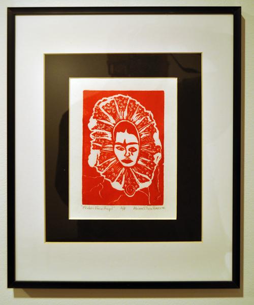 Frida Face Huipil By Akira Ellen Hanson