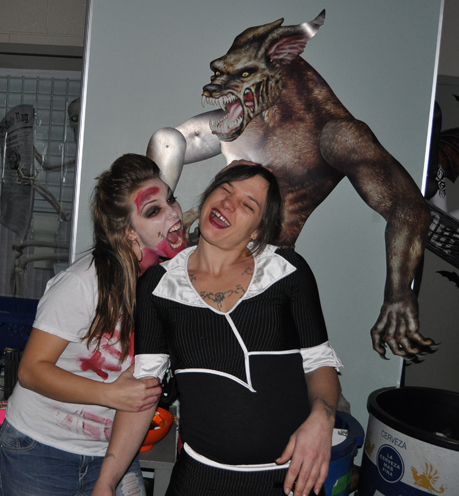 Zombies and werewolves  O my! David F. Rooney photo