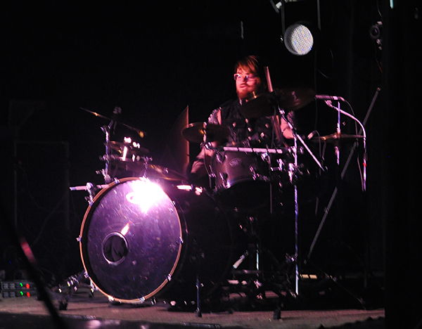 Drummer James Kincaid performed an exceptionally good drum solo. David F. Rooney photo