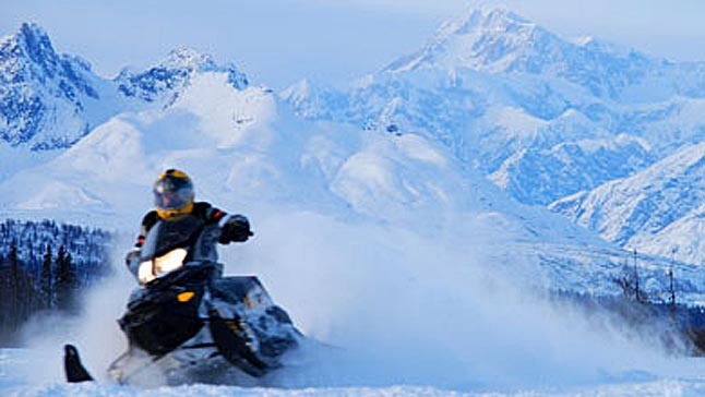 With winter fast approaching, temperatures dropping, and snow falling across much of British Columbia the BC RCMP wants to remind potential snowmobile thieves that they may be taking more than they bargained for and they may just be stealing a Bait Sled. Photo courtesy of the RCMP