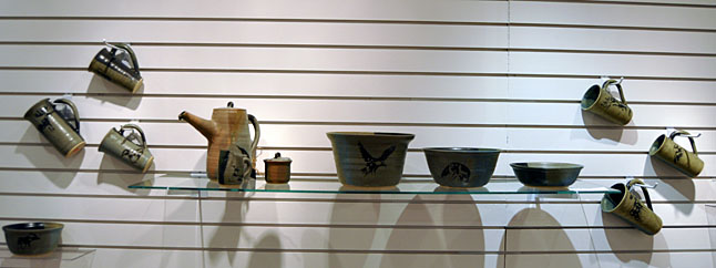 Bowls, Pitchers and Cup By Jacqueline Palmer Ceramic 2013