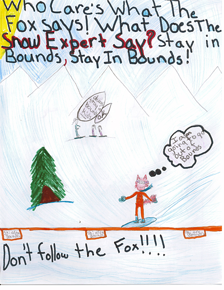 2nd place — Morgan Tegart, BVE, Grade 5