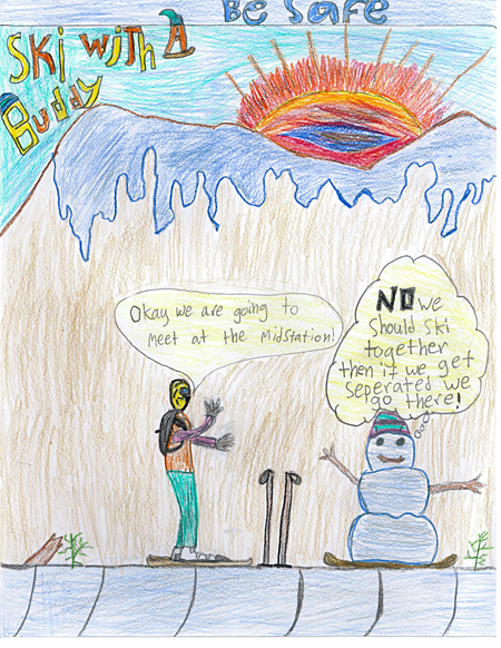 2nd place — Everet Carter, BVE, Grade 6