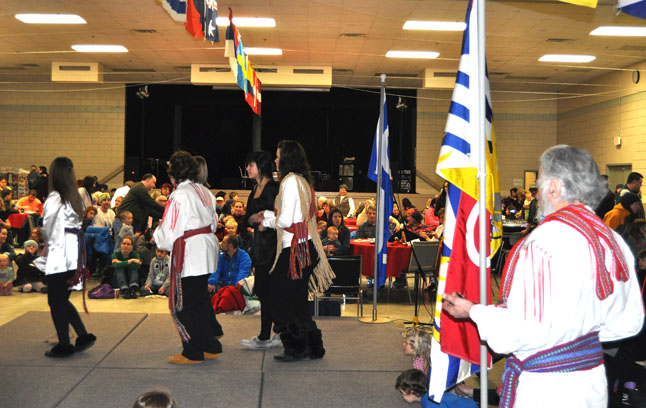 These Metis dancers from Golden are a favourite performing troupe at the Carousel of Nations. David F. Rooney photo