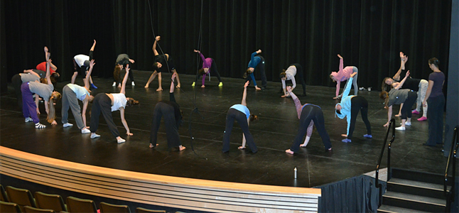 The workshop, held on the afternoon of Sunday, February 2, was attended by 18 people seven of whom were from Salmon Arm and dance with Just For Kicks. Miriam Manley photo