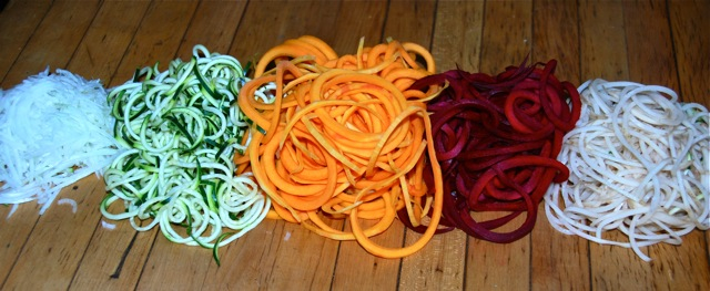 Savage Delights makes spirals out of almost any vegetable for a fun approach to adding veggies to every meal.