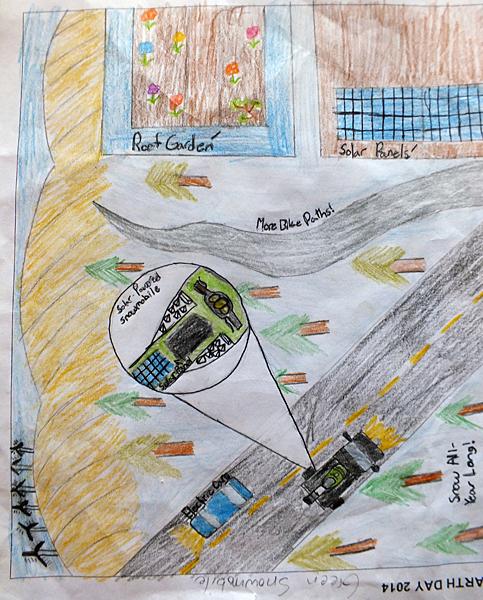 Arrow Heights Elementary Grade 6/7, Aleks Klassen