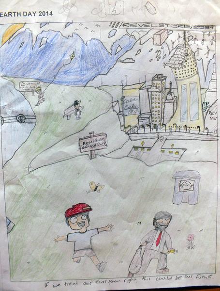 Begbie View Elementary Grade 7, Nick Sakiyama