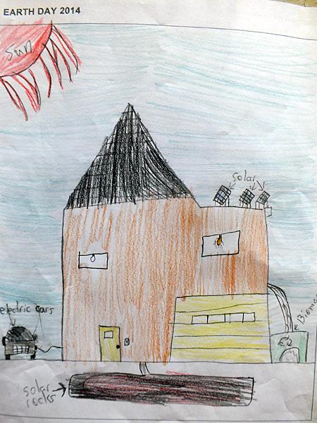 Begbie View Elementary Grade 5/6, Odin Woods