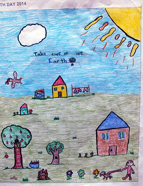 Begbie View Elementary Grade 3, Fia Cameron