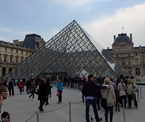 And, of course, how could anyone go to Europe without visiting Paris?  Lisa Cancilla photo