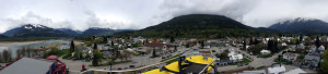 Here's what Revelstoke looks like from atop the ladder. Geoff Wilson photo
