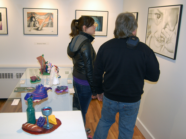 A lot of the works on display were very good. David F. Rooney photo