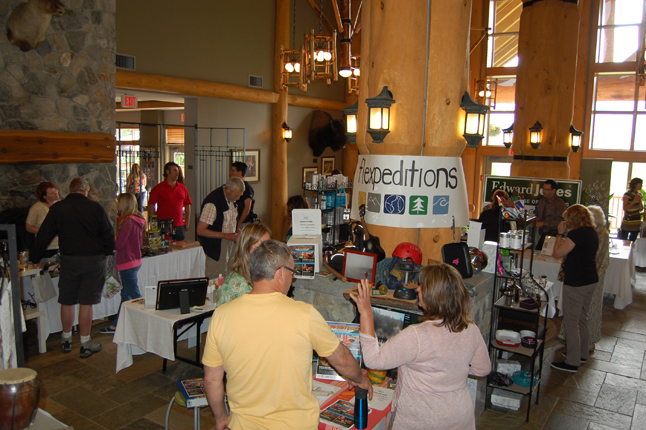 The Chamber of Commerce's Spring Expo was held at the Hillcrest Hotel on Sunday, May 25. About 28 local vendors showed their wares and services to a small crowd of attendees. David F. Rooney photo
