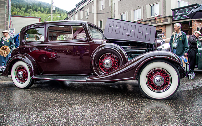 And this is the vehicle that won the show, Peter Trant's 1933 McLaughlin Buick Victoria. Jason Portras photo