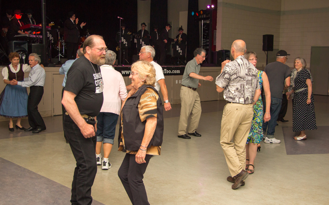 """If this is how """"senior citizens"""" party, then everyone should be so lucky. Jason Portras photo"""