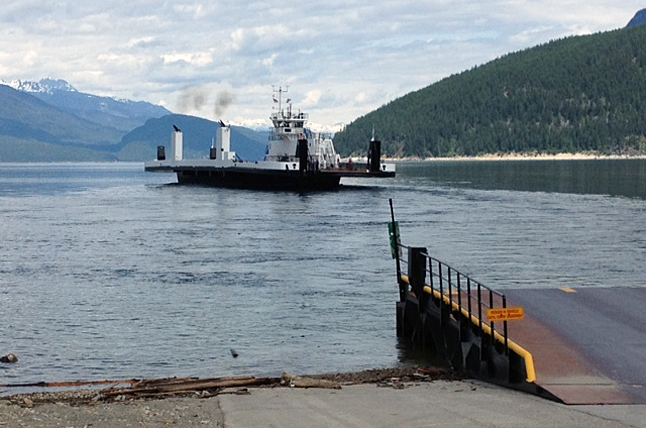 The new $26.5 million ferry project that was awarded by the province to WaterBridge Steel Inc. in 2012. It was built in Nakusp. Lynne Welock photo