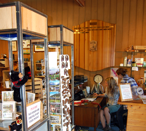 And, if you want a unique memento of your visit, the museum gift shop offers locally made artwork and crafts — no Made in China stickers here. David F. Rooney photo
