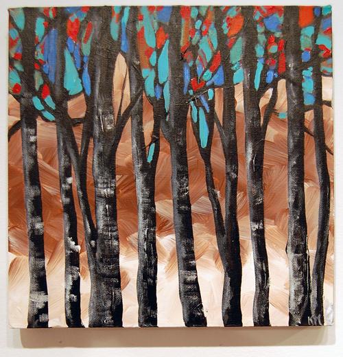 Kaleidoscope By Kristi Marcoffio Acrylic on Canvas