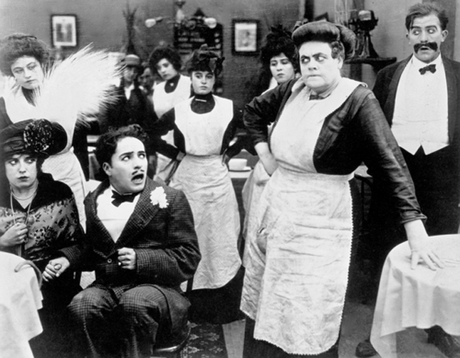 The City Slicker, from which this scene is taken, is one of four Charlie Chaplin films being shown by the Bygone Era Entertainment Society at the Nickelodeon Museum on Friday, August 1.