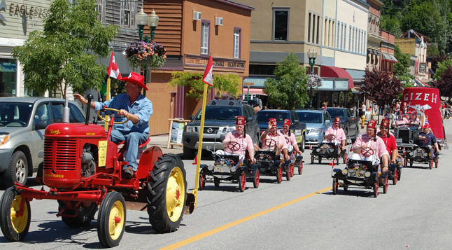 The Shriners in their mimi cars are always a hoot. David F. Rooney photo