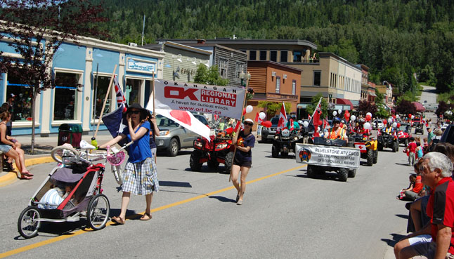 Even the library had a few representatives in the parade! David F. Rooney photo