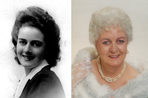 (Gertrude) Eileen Blais, nee Ruckle, born March 3, 1926, and slipped free July 6, 2014.