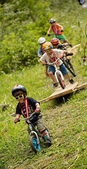 For kids the obstacle course will be a real hoot! Steve Shannon photo courtesy of Parks Canada