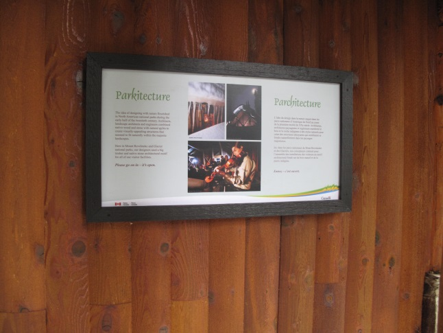 Monashee cabin and lookout feature new exhibit panels describing the natural and some cultural history of the area. Laura Stovel photo