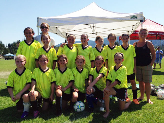 The U11 Girls were all smiles after their third-place tie. Photo courtesy of Alex Farrugia