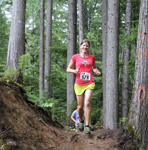 The race was a magnet for local runners. Phil Hiom photo