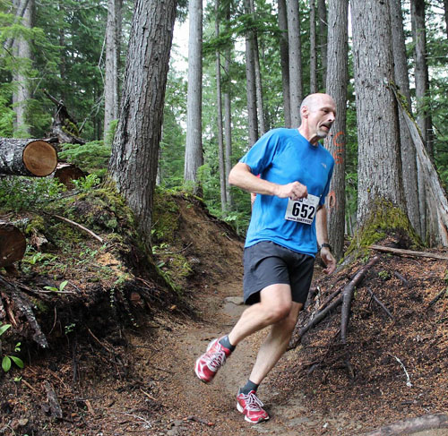 Richard Brittin picks up the pace. Phil Hiom photo