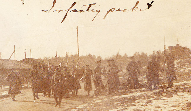 Canadian infantrymen were ordered into the camp to suppress the riot.
