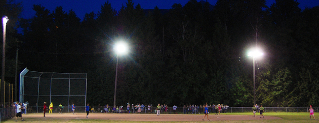 There's nothing quite like a night game played under the lights. David F. Rooney photo