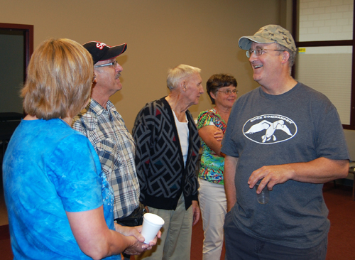 The Sid-Arrow Reunion at the Community Centre brought together 60 former residents of those now-vanished communities that lived along the river south of Revelstoke until the valley was eventually flooded by BC Hydro. David F. Rooney photo