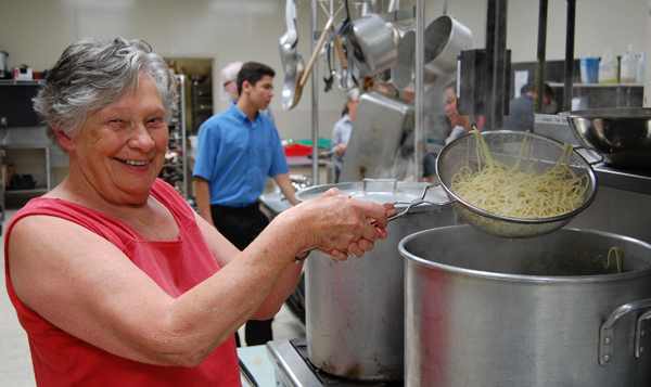 If Kim was the meatball queen then Beth Campbell had to been the Noodle Queen. David F. Rooney photo