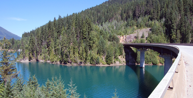 The RCMP dive team has recovered the body of a young man from Clearwater who jumped off the Laforme Creek Bridge on Highway 23 North early Wednesday evening. This photo of the Laforme Creek Bridge was taken Thursday morning. David F. Rooney photo