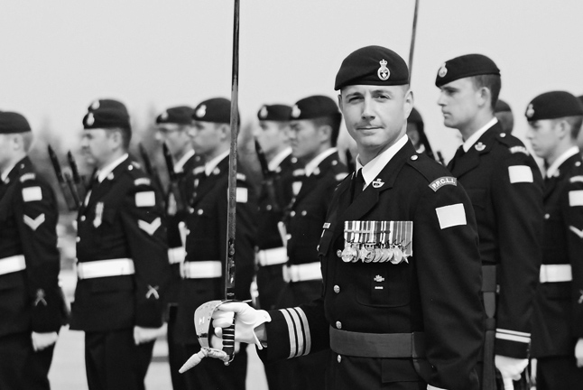 CFB EDMONTON — Lieut.-Col. Mason Stalker is a very happy man. The Revelstoke native has risen to command one of Canada's elite infantry units — the First Battalion of the Princess Patricia's Canadian Light Infantry. Christina Van Goor photo