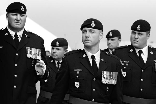 CFB EDMONTON — A proud new commander of 1 PPCLI. Christina Van Goor photo
