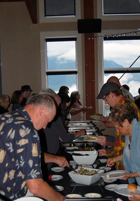 Besides the music, this event featured an excellent meal prepared by RMR staff. David F. Rooney photo