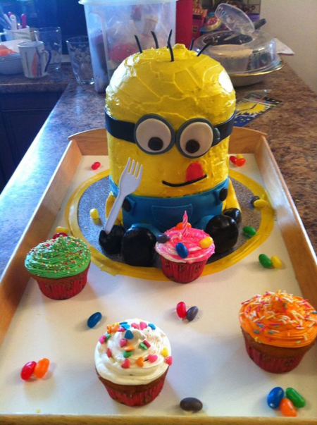 Terren Meloro's terrific Minion Cake design won first prize in the recent photo contest sponsored by Big Mountain Kitchen & Linen. Terren Meloro photo courtesy of Big Mountain Kitchen & Linen