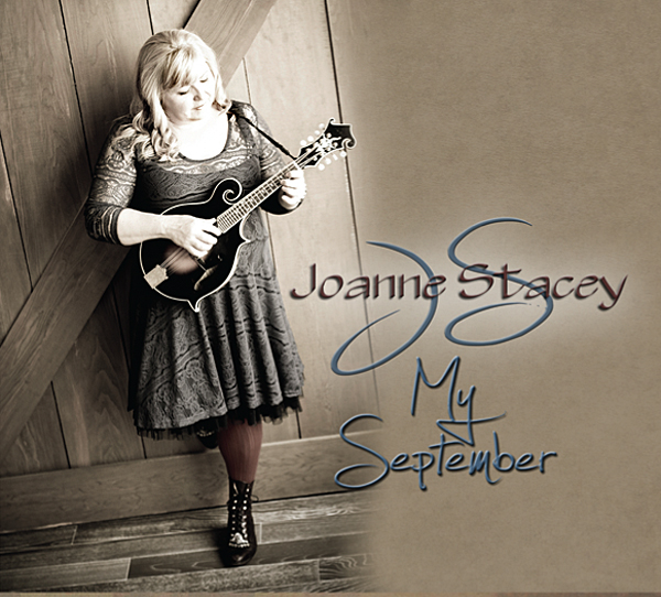 "Joanne Stacey is kicking off the autumn with a sweet new solo album — My September.  ""It's old-school country that takes me back to my roots when I was a girl,"" she said in an interview. CD album cover courtesy of Joanne Stacey"