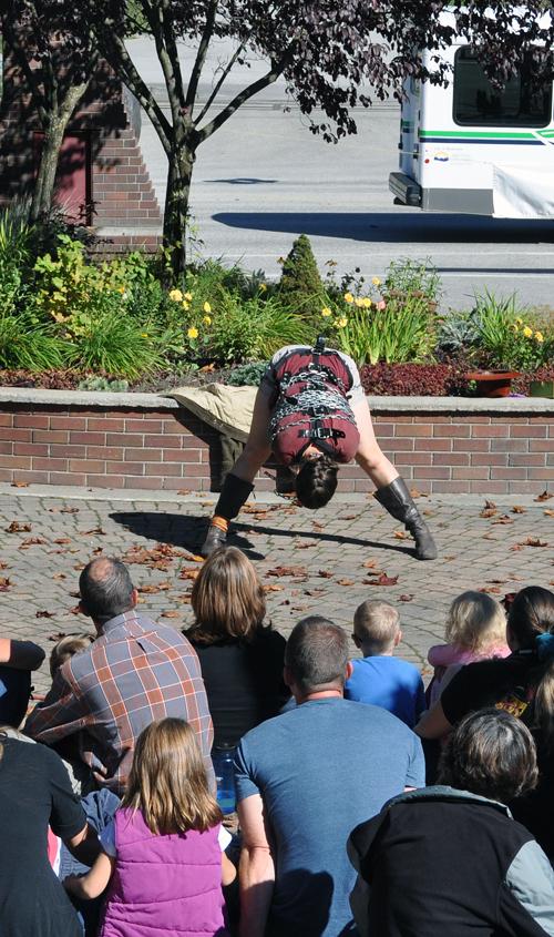 Bending helps. David F. Rooney photo