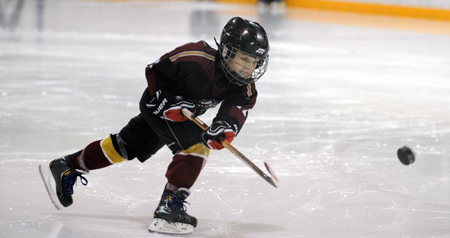Troubled by declining registrations over the last few years, the Revelstoke Minor Hockey Association is exploring creative new ways to make its hockey more attractive to potential young players and their families. Photo courtesy of Kevin Grimm