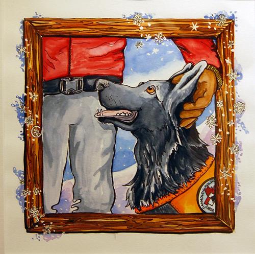 Radar The Rescue Dog By Zuzana Driediger