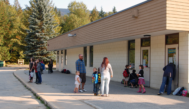 Parents of kids attending local schools are universally happy to see their kids start school. What's more, all of those who chatted with me this morning at all three elementary schools said their kids were more than ready for the start of classes.  David F. Rooney photo