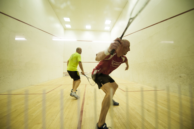 The Bear's Den Classic saw 36 high-caliber squash players from across the province compete for top honours. Daniel Stewart photo